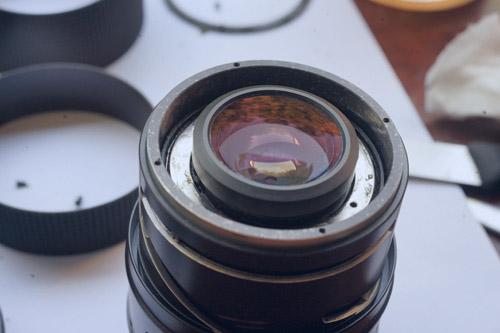 Mamiya CS 45-90mm f35 Repair 14