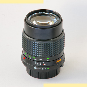 Minolta 135mm f35 MD-II pic
