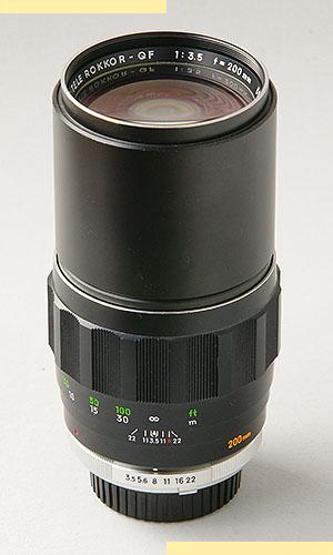 Minolta 200mm f35 MC-II pic