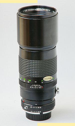 Minolta 300mm f45 MC-X pic