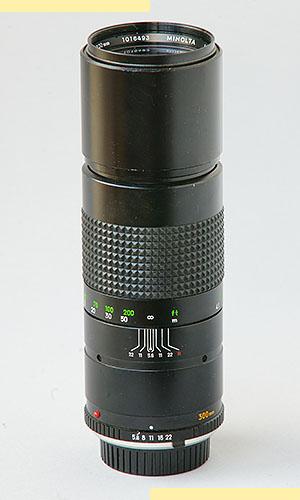 Minolta 300mm f56 MC-X pic