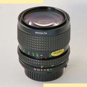 Minolta 35-70mm f35 MD-II pic