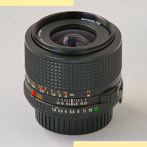 Minolta 35mm f18 MD-III pic