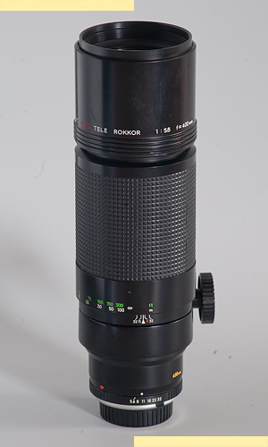 Minolta 400mm f56 APO MC-X pic