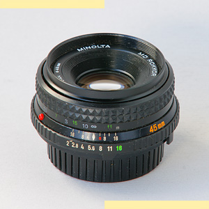 Minolta 45mm f2 MD-II pic