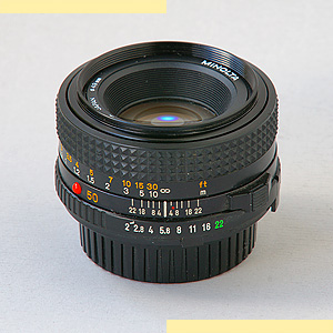 Minolta 50mm f2 MD-III pic