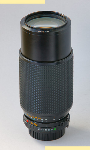 Minolta 70-210mm f4 MD-III pic