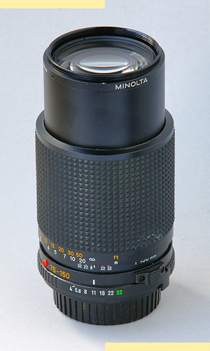 Minolta 75-150mm f4 MD-III pic