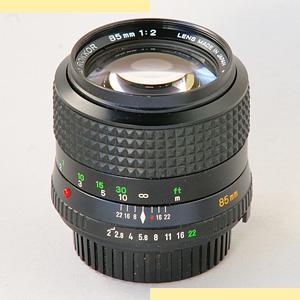 Minolta 85mm f2 MD-II pic
