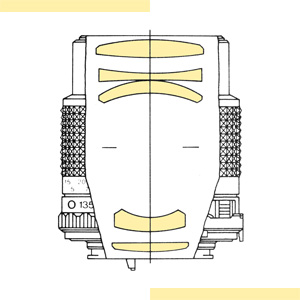 Minolta 135mm f35 MD-III