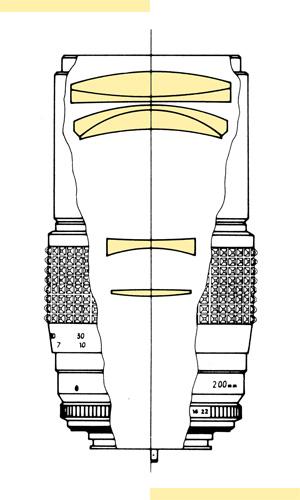 Minolta 200mm f35 MC-X