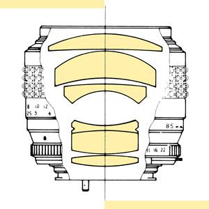 Minolta 85mm f17 MC-X