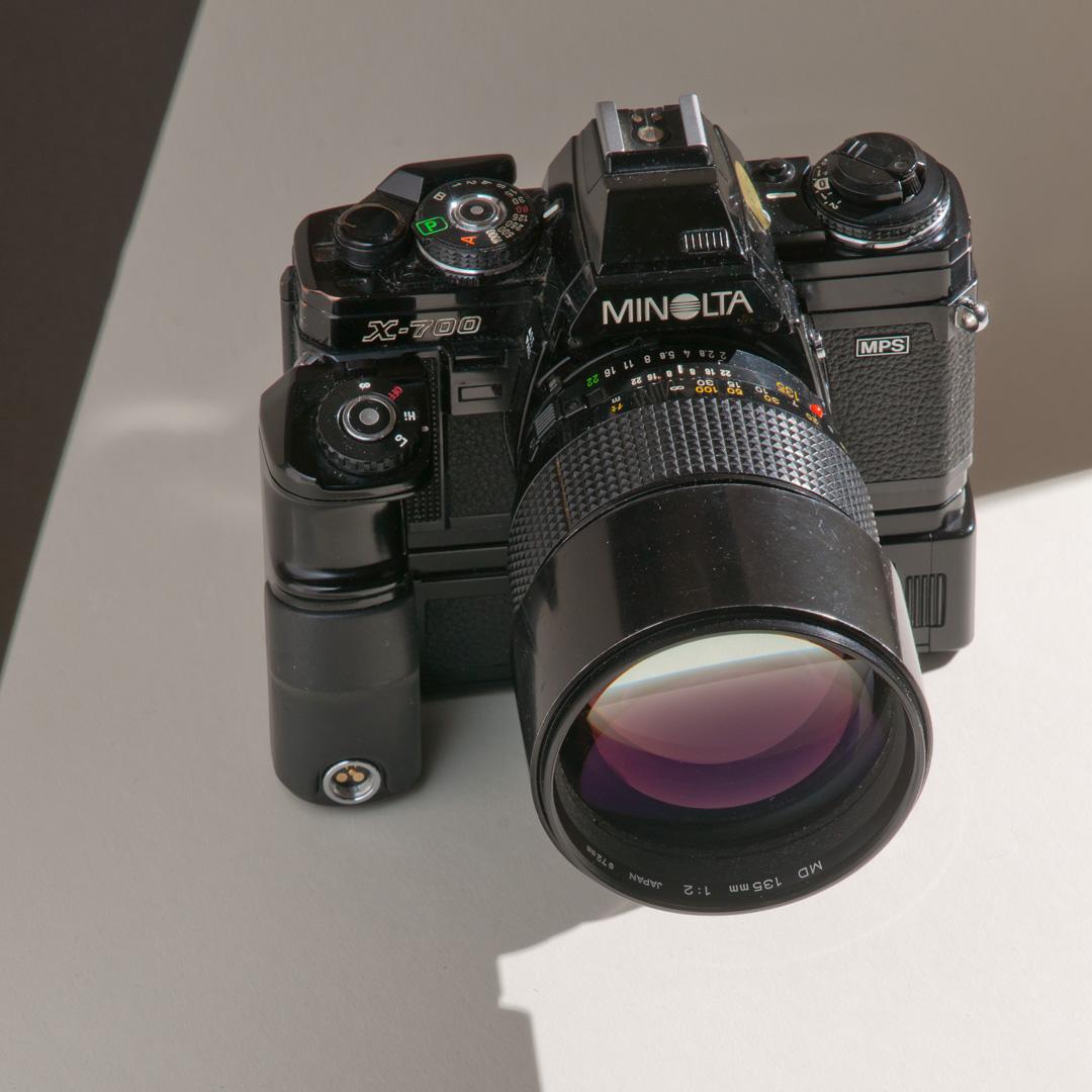 Minolta X-700 MD 135mm f2 DSC03219