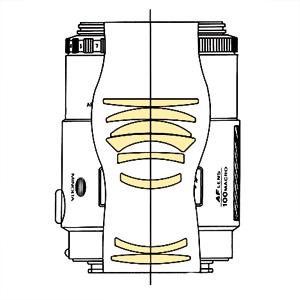 Minolta AF 100mm f28 Macro qs