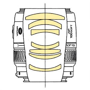 Minolta AF 100mm f28 SoftFocus qs