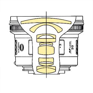 Minolta AF 20mm f28 qs