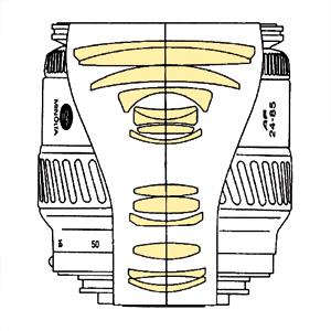 Minolta AF 24-85mm f35-45 qs