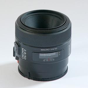 Sony AL 50mm f28 Macro