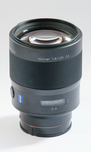 Sony Zeiss 135mm f18