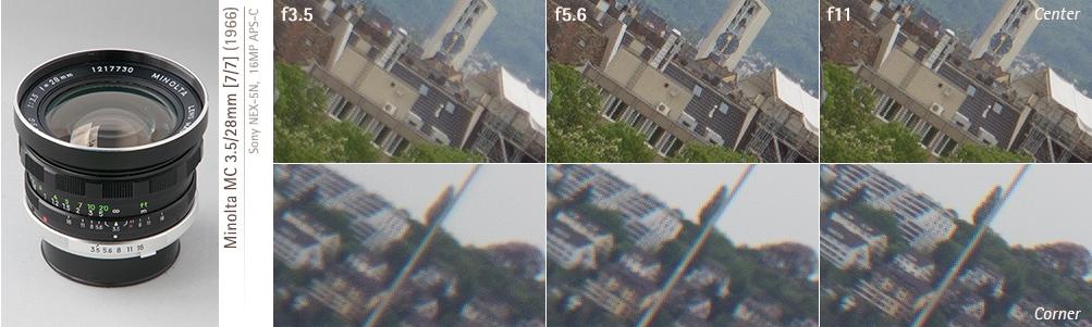 Minolta 28mm f35 MC-I 67mm Filter