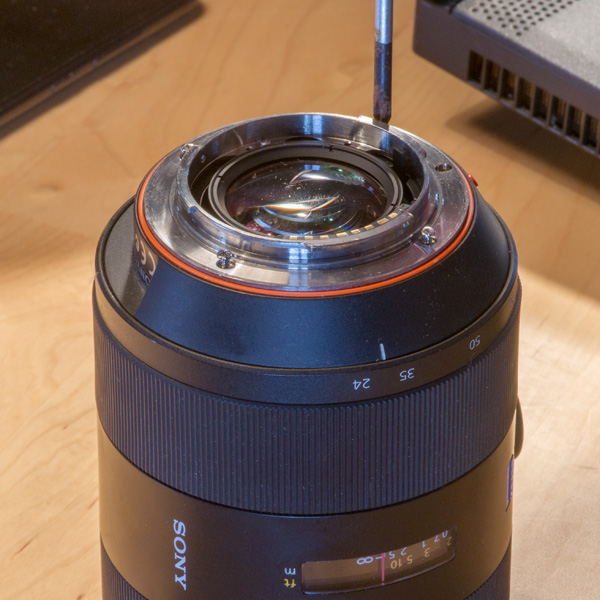 Repair Sony Zeiss 24-70mmf28 ZA 02