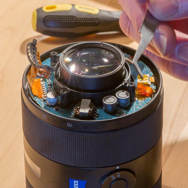Repair Sony Zeiss 24-70mmf28 ZA 10