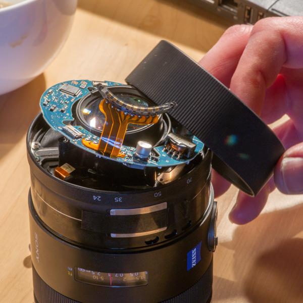 Repair Sony Zeiss 24-70mmf28 ZA 13