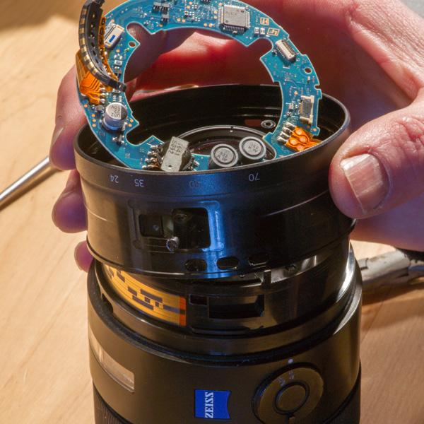 Repair Sony Zeiss 24-70mmf28 ZA 17