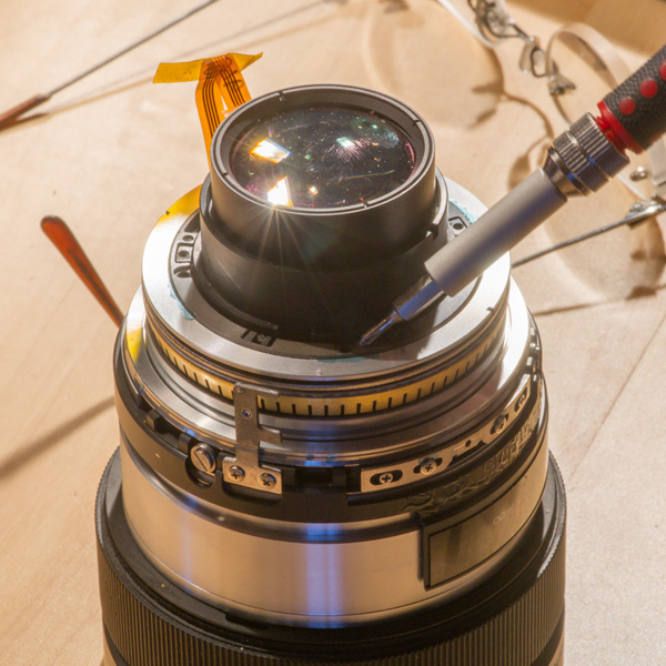 Repair Sony Zeiss 24-70mmf28 ZA 21