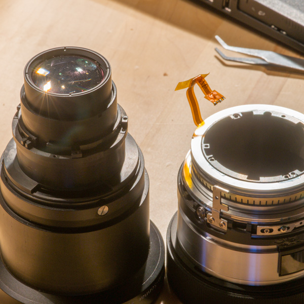Repair Sony Zeiss 24-70mmf28 ZA 25 22