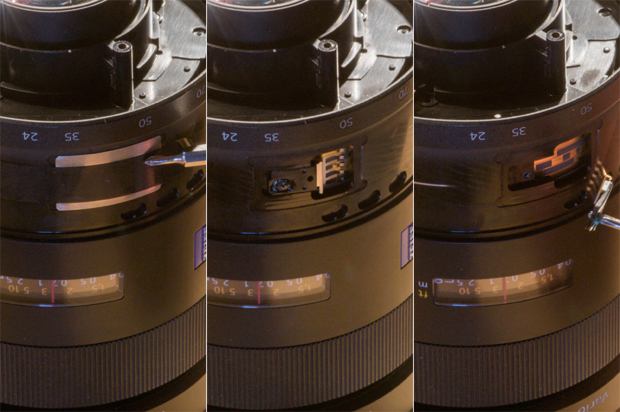 Repair Sony Zeiss 24-70mmf28 ZA 40