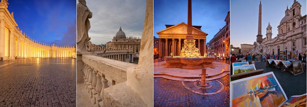 Rom 2014 Locations